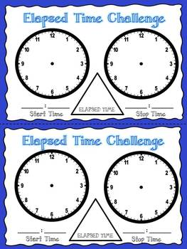 Elapsed Time Dice Partner Game