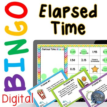 Elapsed Time Digital Bingo