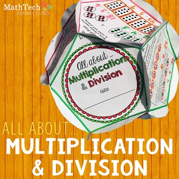Multiplication & Division - Dodecahedron Project