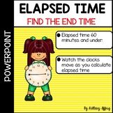 Elapsed Time: Find the End Time (powerpoint) ok for distan