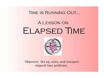 Elapsed Time Flip Chart