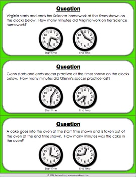 Elapsed Time Activity: Elapsed Time Within An Hour Game (3.MD.1)