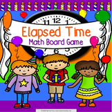 Elapsed Time Game 3rd Grade {3.MD.1}