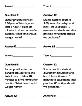 Elapsed Time Game