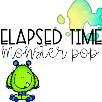 Elapsed Time Game -- Monster Pop!