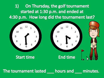 "Elapsed Time ""Golf"""