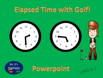"Elapsed Time ""Golf"""