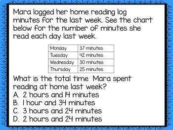 Elapsed Time Google Forms Quiz