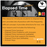 Elapsed Time - Google Slides {Digital & PDF}