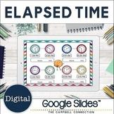 Elapsed Time Google Slides | Number Line
