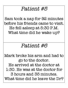 Elapsed Time Hospital Cards