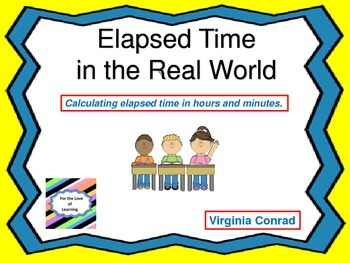 Elapsed Time---Hours and Minutes