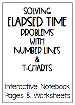 Elapsed Time INB and Practice Pages