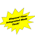 Elapsed Time Integrated Math Task