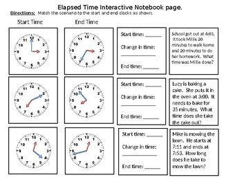 Elapsed Time Interactive Notebook