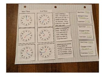 Elapsed Time Interactive Notebook Freebie