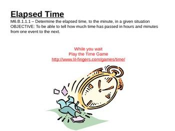 Elapsed Time Intro