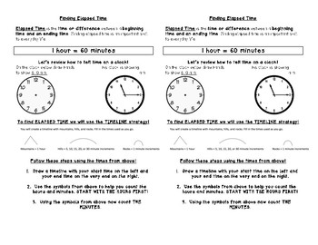 Elapsed Time Journal Notes