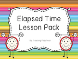 Elapsed Time Lesson Pack