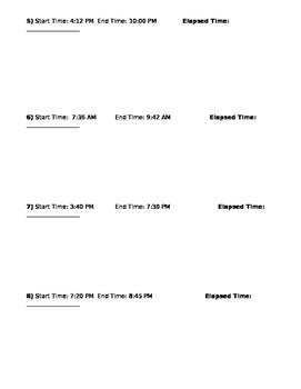 Elapsed Time- Level 1