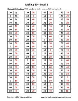 Elapsed Time: Making 60 - Level 1  FREE
