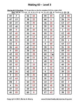 Elapsed Time: Making 60 - Level 3   FREE