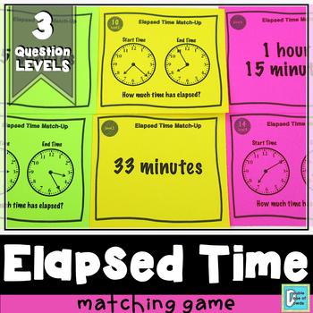 Elapsed Time Matching Game