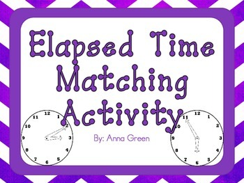 Elapsed Time Matching Activity