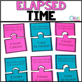 Elapsed Time [Matching Puzzle Pieces Activity]
