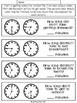 Elapsed Time Math Freebie