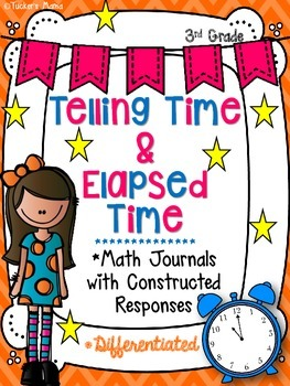Elapsed Time Math Journals