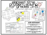 Elapsed Time Math Practice Activities Grades 3-5