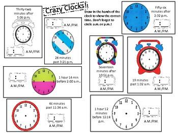 elapsed time math practice activities grades 3 5 by tasteslikepaste. Black Bedroom Furniture Sets. Home Design Ideas
