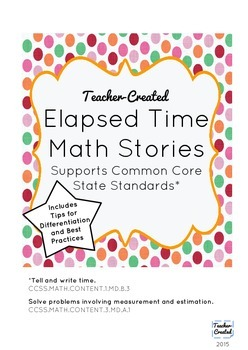 Elapsed Time Math Stories