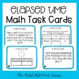 3rd Grade Elapsed Time Task Cards | Elapsed Time Math Center