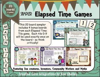 Elapsed Time Math Tile Sampler