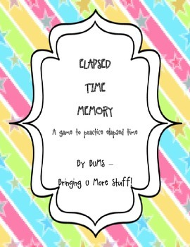Elapsed Time Memory - Time, Math, Elapsed Time, Game