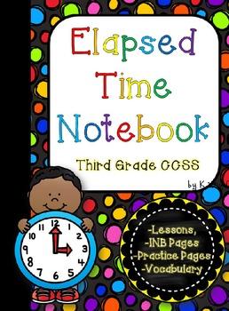 Elapsed Time Mini-Unit -- Third Grade CCSS