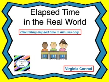 Elapsed Time---Minutes Only