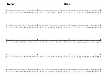 Elapsed Time Number Line ***FREEBIE*** by Miller\'s Flip Flops | TpT