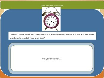Elapsed Time PARCC Exit Ticket 2