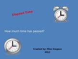 Elapsed Time POwerPoint - 3rd Grade VA SOLs