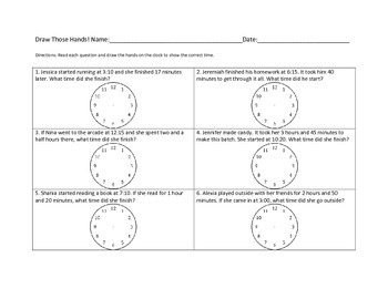 Elapsed Time Packet 3 and 4