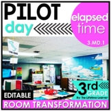 Elapsed Time - Pilots Real World Math Activity