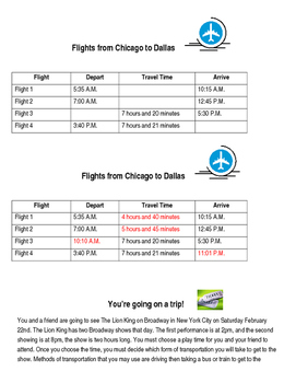 Elapsed Time: Plan your trip challenge