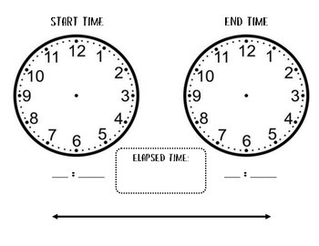 Elapsed Time Practice