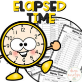 Elapsed Time Practice Pages {Print and Go}