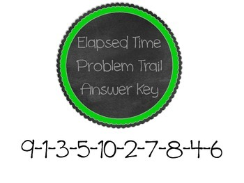 Elapsed Time Problem Trail