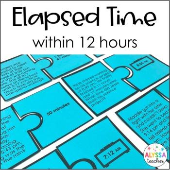 Elapsed Time Puzzles