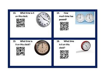 Elapsed Time QR Codes